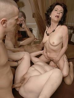 MILF Group Sex Pics